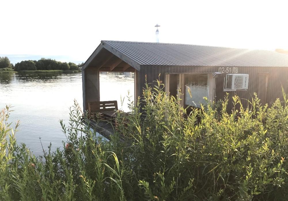 домик на воде парк-отель Палуба