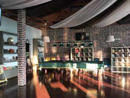 ресторан парк-отеля Палуба